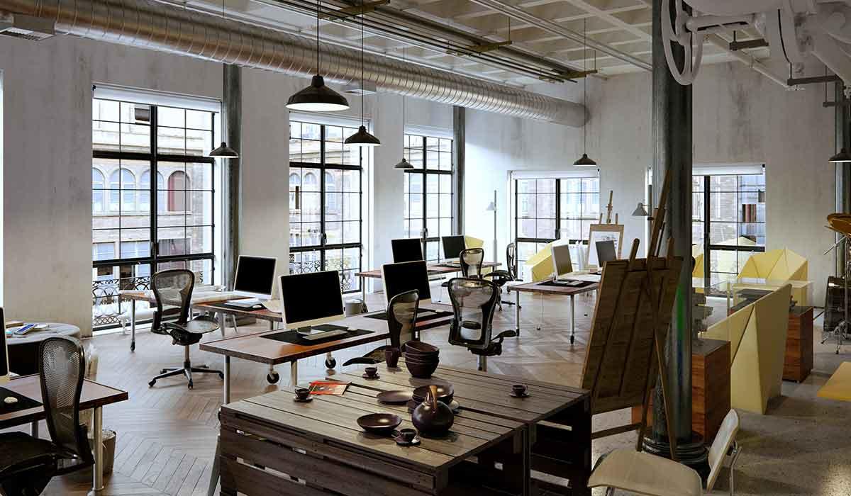 Image D Un Bureau De Travail bureaux et espaces de travail - designer d'intérieur à montréal